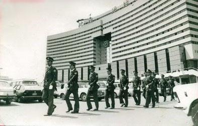 上世纪90年代沈阳北站警务巡逻